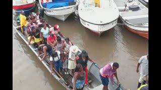 Con miedo, pero con fe de que todo mejore, 3 mil desplazados regresan a veredas de Tumaco