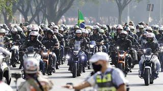 Brésil : Amende pour le président Bolsonaro, pour non-port du masque