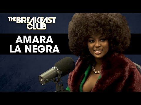 Amara La Negra Discusses Being Afro-Latina & The Standards Of Beauty In The Entertainment Industry