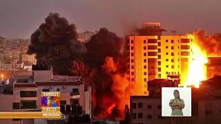 Condena Presidente de Cuba graves violaciones de los derechos humanos del pueblo palestino