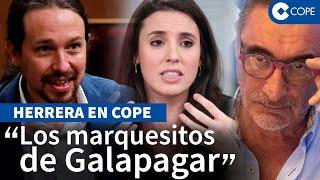 Herrera demuestra la hipocresía de Iglesias y Montero con la subida de la luz