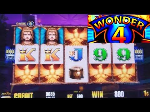 connectYoutube - Wonder 4 Fire Light Slot Machine ★BONUSES WON★ NICE GAME ! Live Aristocrat Slot Play