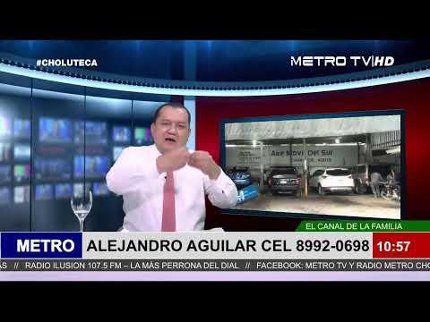 METRO TV NOTICIAS ESTELAR CON ALEJANDRO AGUILAR