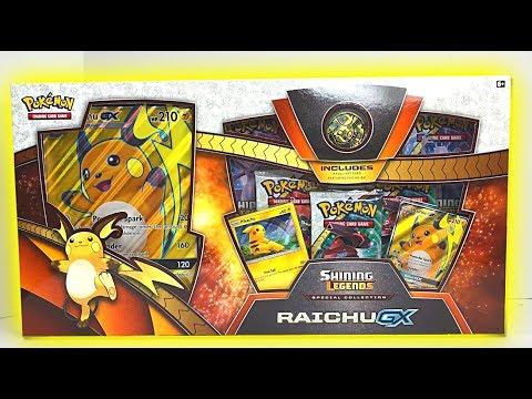 connectYoutube - OPENING NEW RAICHU GX POKEMON CARDS BOX!