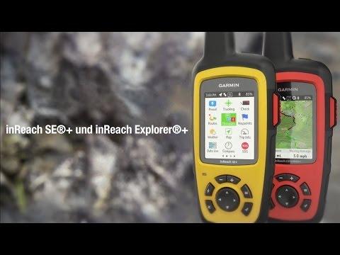 inReach SE®+ und inReach Explorer®+ - globale Satelliten-Kommunikationsgeräte