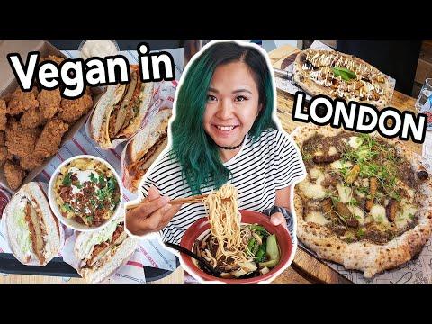 MUST TRY VEGAN EATS IN LONDON (Ramen, Vegan Fried Chicken, Afternoon Tea & More!)