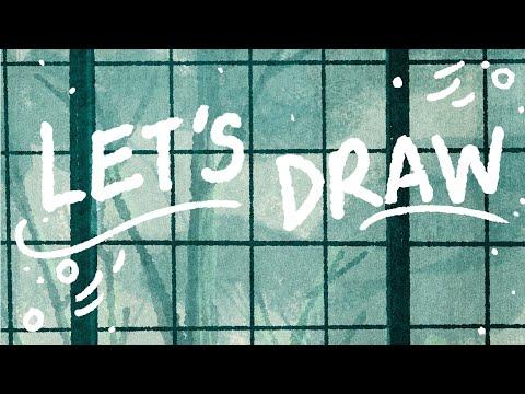 Digital Art Process    Museum Vlog + Speedpaint