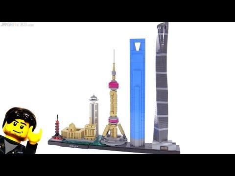 connectYoutube - LEGO Architecture Shanghai skyline set review 21039 🇨🇳