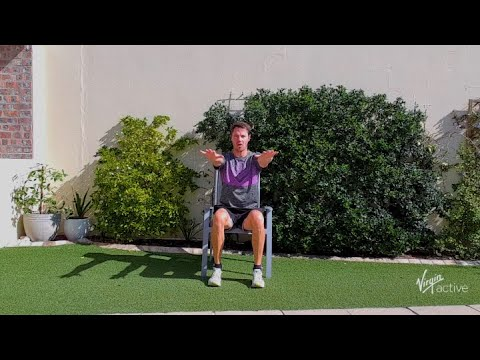 16 min low impact workout with Richard from Virgin Active | Vitality at Home