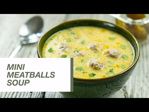 Delicious Mini Meatball Soup   Food Channel L Recipes