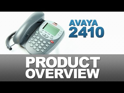 Avaya 2410 Product Overview