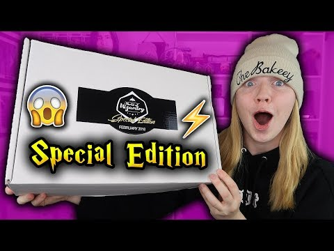 Harry Potter - World Of Wizardry Special Edition Unboxing - February 2018 (Geek Gear)