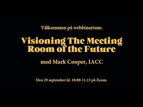 Visioning Meeting Room of the Future