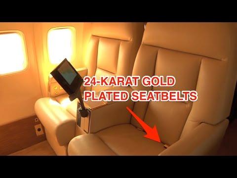 Inside Trump's personal Boeing 757 jet