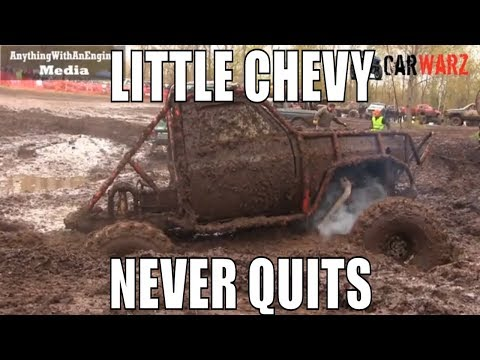 Little Chevy Never Quits Mudding At Mud Madness Spring Opener 2019