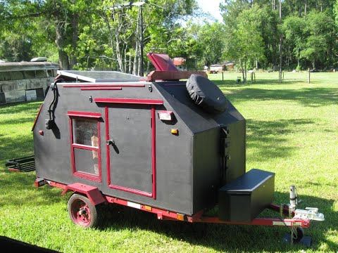 Wombat Teardrop Camper Full Build and Plans