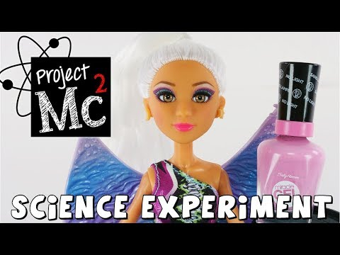 connectYoutube - Project MC2 Nail Polish Experiment | Science Experiment | Toy Review by DCTC Amy Jo