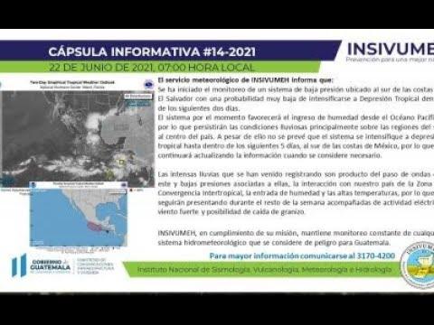 Monitorean sistema de baja presión en El Salvador