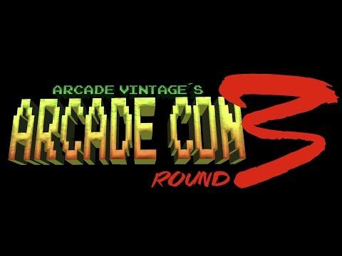 """ARCADE CON ROUND 3 """"REARMED"""""""