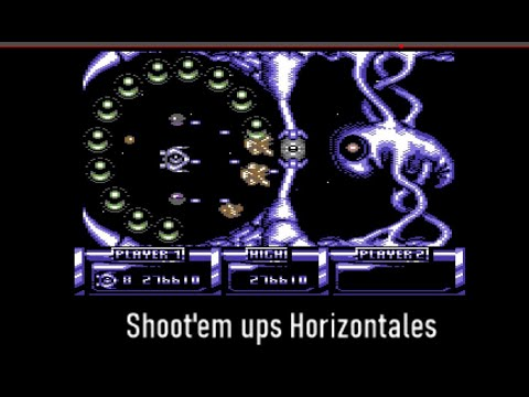 Quitando Txapapote: Shoot'em ups horizontales - C64 Real 50 Hz