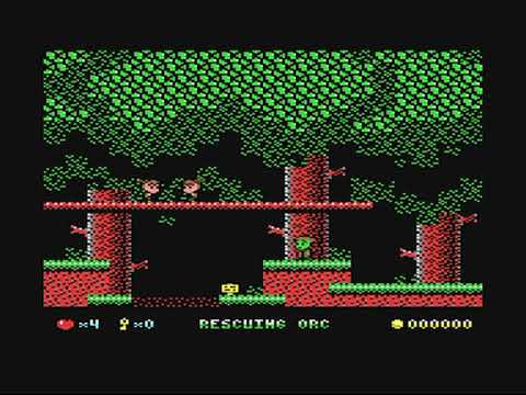 Rescuing Orc crazy hack on the Commodore 64