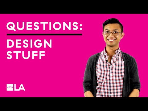 Three Questions: Design Stuff
