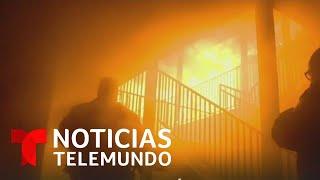 Mueren tres niños latinos y su padre en un incendio en California   Noticias Telemundo