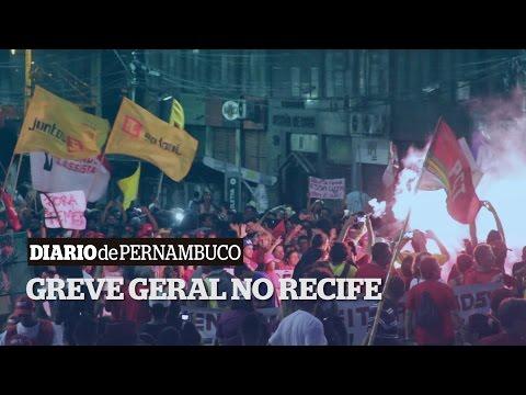 #GreveGeralnoBrasil: Recife
