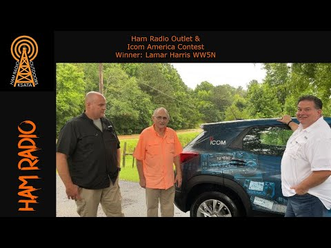 Ham Radio Outlet and Icom Winner! Let's Check Out the Prizes with Ray Novak!