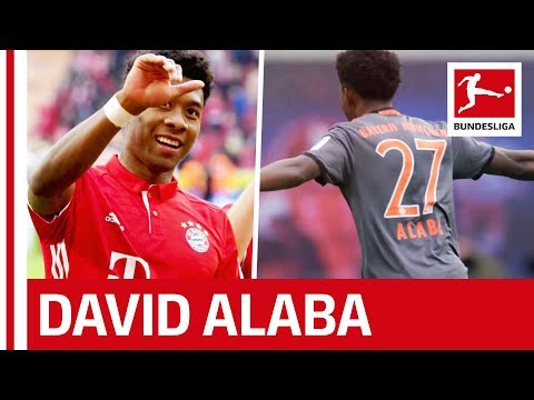 David Alaba - Bayern München's Free-kick Specialist