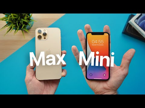  IPHONE 12 MINI e IPHONE 12 PRO MAX!  …
