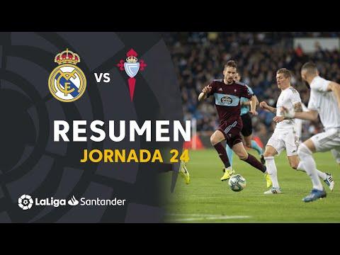 Resumen de Real Madrid vs RC Celta (2-2)