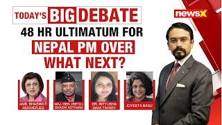 48 HR Ultimatum for Nepal PM Over | What Next? | NewsX - NEWSXLIVE