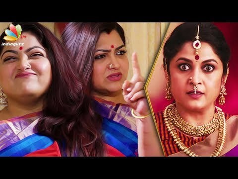 connectYoutube - I yelled at Ramya Krishnan after watching Bahubali! : Kushboo Latest Interview
