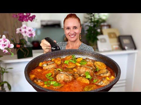 Готовлю снова и снова БАКЛАЖАНЫ с фаршем Быстрый и Вкусный обед (ужин) Люда Изи Кук eggplant recipes