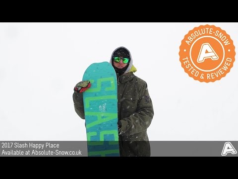 2016 / 2017 | Slash Happy Place Snowboard | Video Review