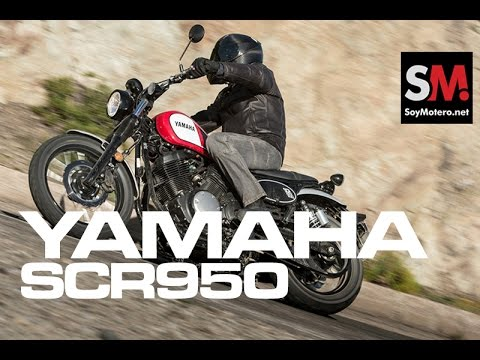 Yamaha SCR950 2017: Prueba Moto Neo retro [FULLHD]