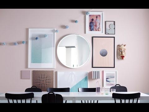 IKEA Ideas:How to hang a creative collection