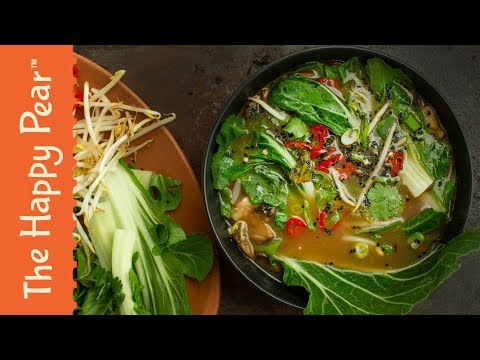 VEGAN PHO with BOSH!