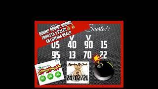 BOOM!!BOOM!! BOOM!!! TRIPLETA Y PALE!! 95 09 40 EN LOTERIA REAL!!????????????
