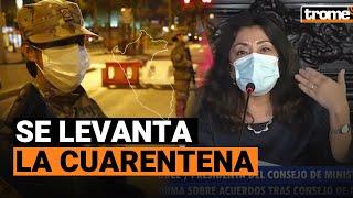 Coronavirus Perú: Gobierno levanta cuarentena en zonas de riesgo extremo y dispone toque de queda
