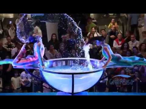 Espectáculo de WATERBOWL   AirShow es