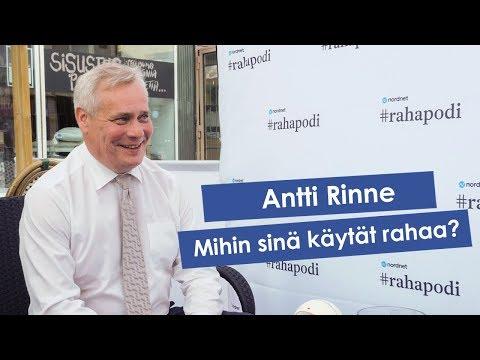 #rahapodi 125 | Mihin sinä käytät rahaa, Antti Rinne?