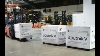 Esta madrugada llegó nuevo lote de Sputnik V
