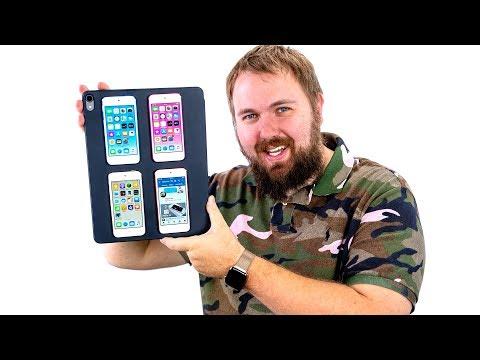 Сделал лучший самодельный iPad из iPod touch 7G и рад photo