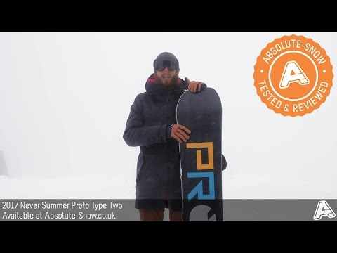 2016 / 2017 | Never Summer Proto Type Two Snowboard | Video Review