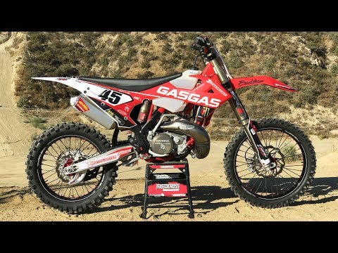 Motocross Action tests Damon Bradshaw's Gas Gas XC300 2 Stroke