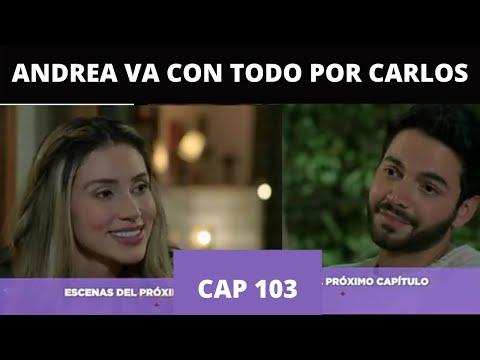CARLOS LE SIGUE EL JUEGO A ANDREA - Nuevo Abance Enfermeras Capitulo 103