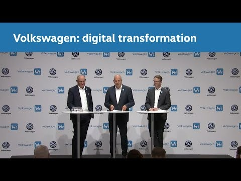 The digital transformation of Volkswagen: our way into the new world of mobility