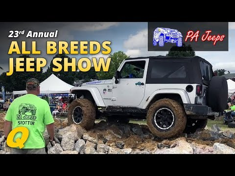 PA Jeeps 23rd Annual All Breeds Jeep Show 2018 Show Overview